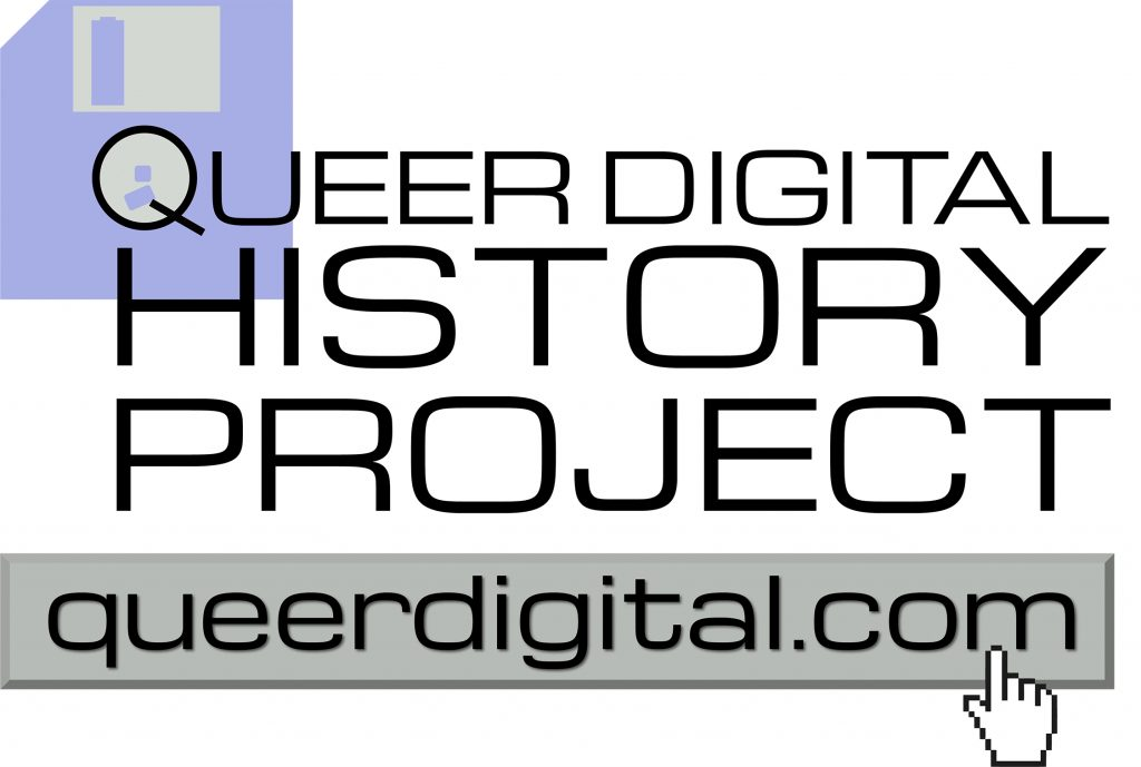 Queer Digital History Project Logo